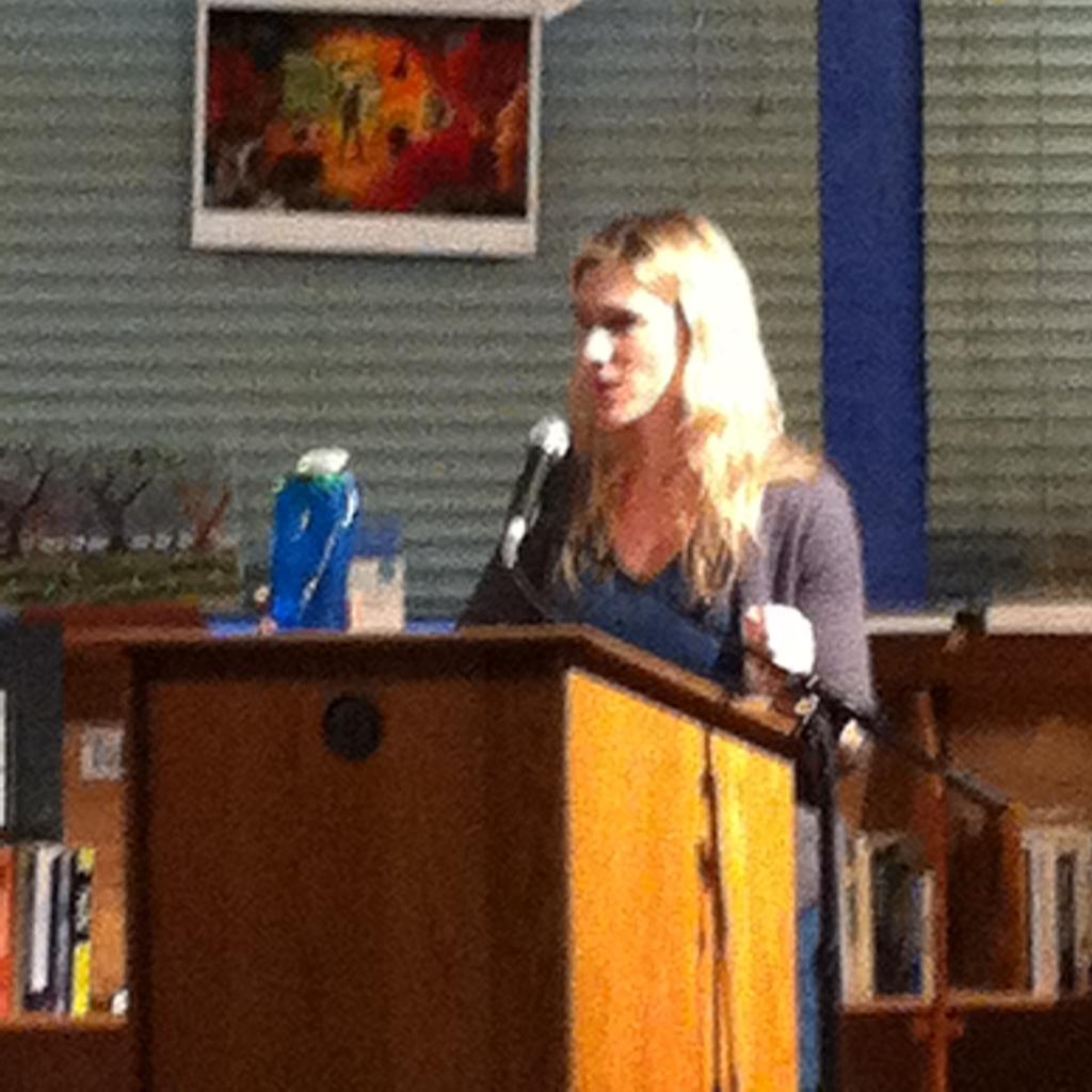 Guest Speaker Anya Kamenetz (Washington Post Education Reporter)