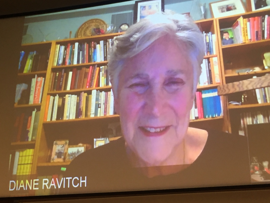Special Long-Distance Guest Speaker Diane Ravitch